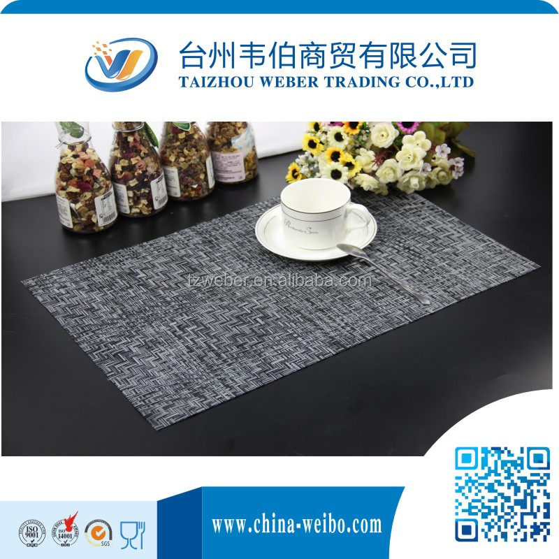Heat Protection Pvc Kitchen Table Placemat