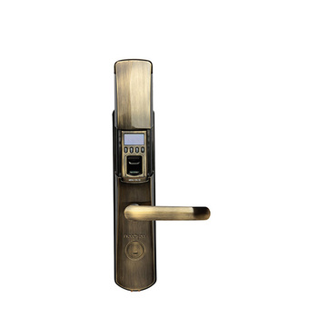 high safety anti-thief fingerprint scanner door lock system with password and mechanical key  sc 1 st  Alibaba & High Safety Anti-thief Fingerprint Scanner Door Lock System With ... pezcame.com