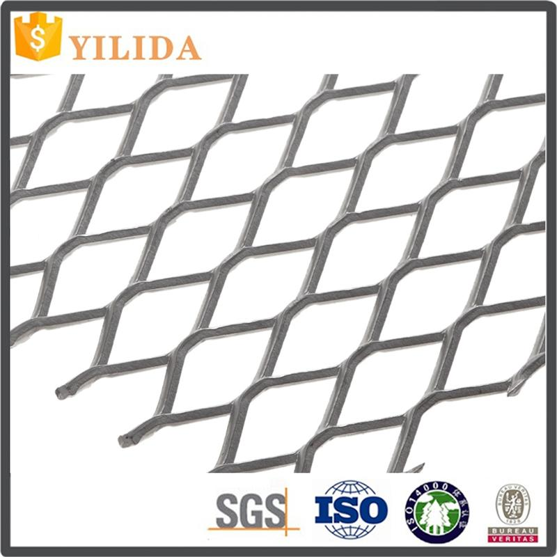 Building material black steel expanded metal lath manufacturer with high quality