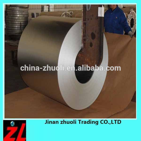 LPG Cylinder Steel Coil Non-magnetic JIS Standard Hot Dip Galvanaized Sheets