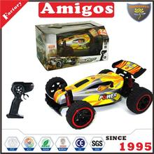 plastic toy 2.4G 1:18 4 channel RC with high speed/PVC body shell/USB CHARGING CABLE battery included child rc racing car