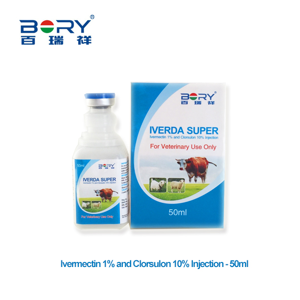 Ivermectin 1% and Clorsulon 10% Injection 50ml
