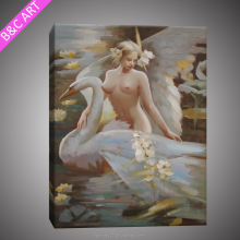Beautiful Nude Women Painting Girl Sexy Image Handmade Oil Painting Reproduction From China