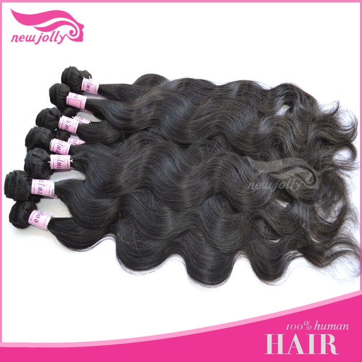 New arrival tangle free unprocessing dyeable brazilian sallys hair extensions with 7days refund or return policy