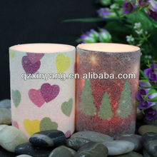 Novelty Printed Your Brand Name Candles