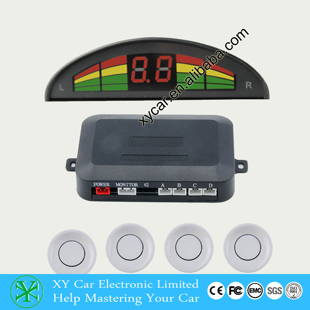 color led display parking sensors for cars universal for all car Display the distance and image on the screen XY-5310
