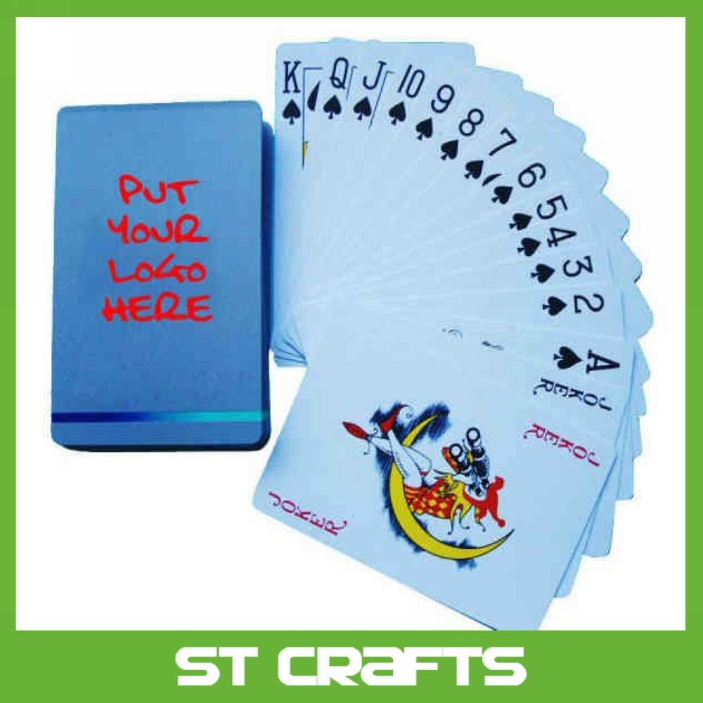 Top quality paper playing cards poker set poker cards
