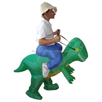 200cm high party costume inflatable dinosaur costume