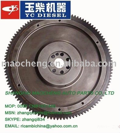 YUCHAI YC6105ZQC flywheel ring gear