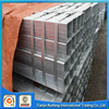 69*69 Galvanized square rectangular steel tube/pipe for greenhouse