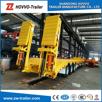 New Style Low Bed Semi Trailers