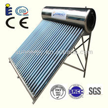 HOT SALE stainless thermal homemade solar water heater