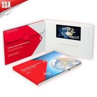 2014 new products lcd video brochure card www youtube com watch
