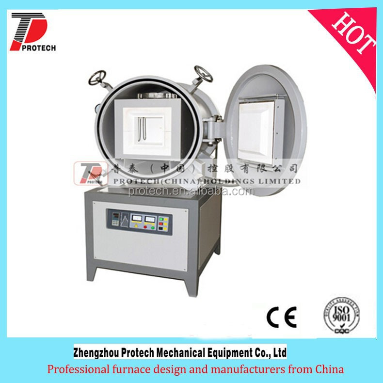 touch screen gas control Vacuum ceramic heating chamber heating furnace