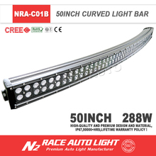 12 volt led light bar 4x4 288w crees led light car led ligh bar for Jeep,trucks,auto parts