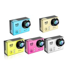 Full HD 1080p night vision action camera waterproof for skiing