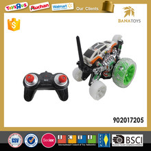 Hot rc stunt acrobatics dancing car with colorful light
