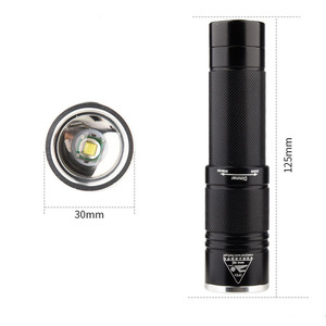 Professional XML-T6 Scuba Torch 18650 Video Diving Light