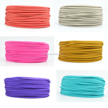 18/2 copper UL stranded Round Electrical Wire/Textile Color Cable