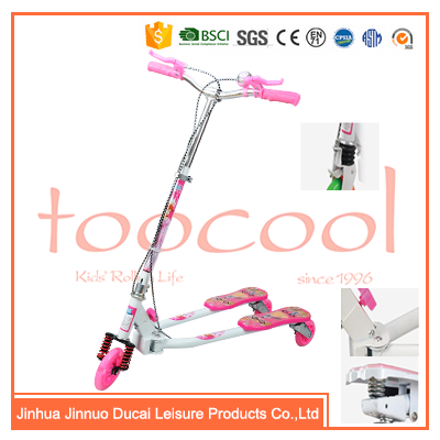 Wholesale 3 wheel flicker scooter new pattern frog scooter TK07 with CE tested(factory)