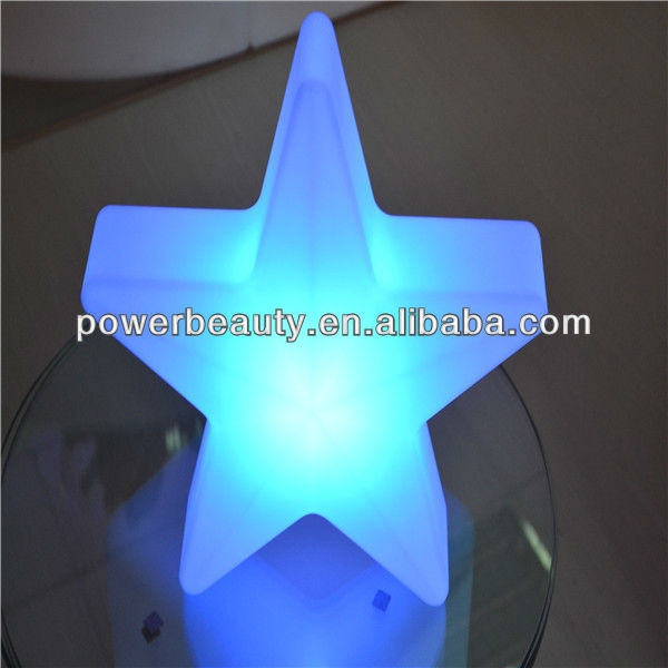 solar christmas light with star