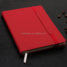 Professional Stationery Hot Sale Hardcover Pu Notebook Planner Organizer with Elastic Band
