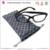 Custom double drawstring microfiber eyeglasses pouch