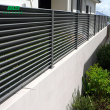 Australian style customized aluminum garden fence