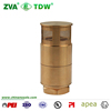 TDW Brass Foot Check Valve For