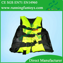 Adult Professional Life Jacket Vest PFD Fully Enclose Foam, Life Jacket Fishing swim Vest