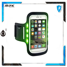 Sports Running Led Armband Phone Case for Night Jogging