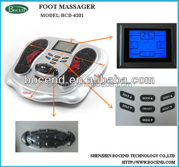 vibrating acupuncture foot massager BCD-4201