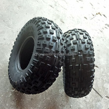 ATV go cart plastic and steel rim wheel tires 145/70-6