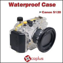 MCOPLUS Underwater Universal Waterproof Camera Cover Case for Canon EOS S120 Digital Camera