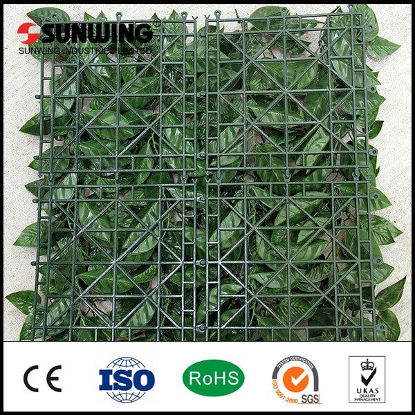 12 stuks 50x50 cm nieuwe producten indoor fake plastic bamboe gras hek voor tuin hekwerk - Bamboe hek ...