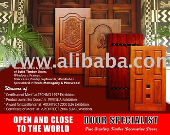 Solid Timber Doors / Windows