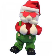 Customized Xmas Elf Toy/ custom Xmas the singing dancing elf plush doll toy