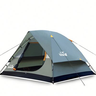 Waterproof Double Layer 2 3 person Outdoor Camping Tent Hiking Beach Tent Tourist bedroom travel 2016 china barraca tenda