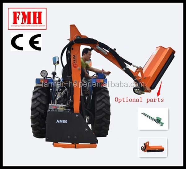 Tractor Mounted Brush Cutter : Tractor mounted grass cutter flexible shaft brush