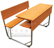 School Desk Dimensions, Integrated Desk and Chair, Combo school Desk