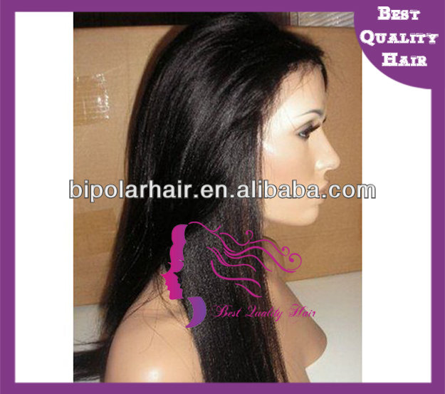 Silky straight Virgin Russian hair full lace wig