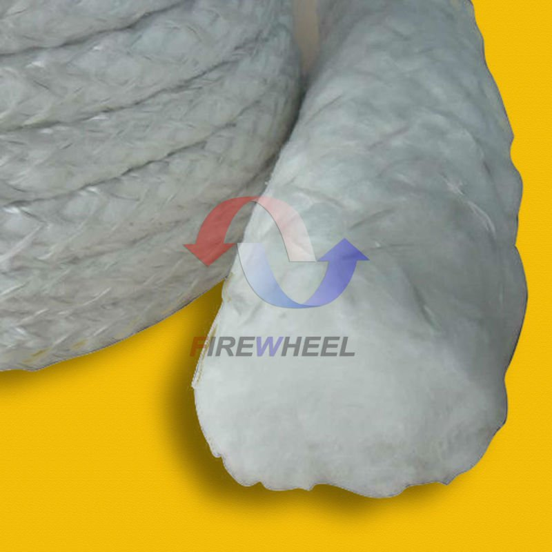Fiberglass rope lagging for heat resistant door seal fiberglass insulation rope fiberglass seal rope