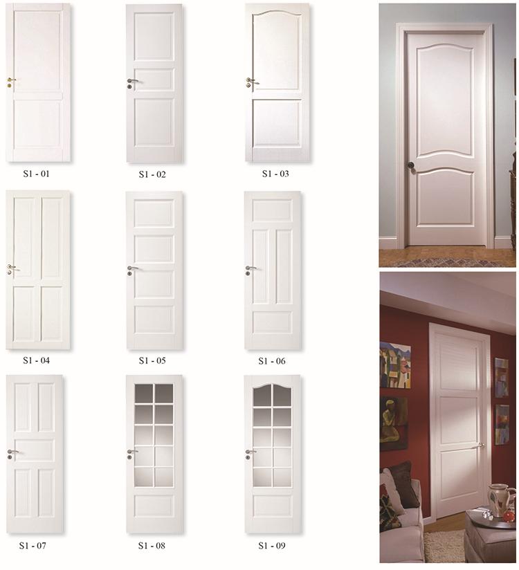2 Panel Solid White Painted Interior Doorswhite Room Doors Buy