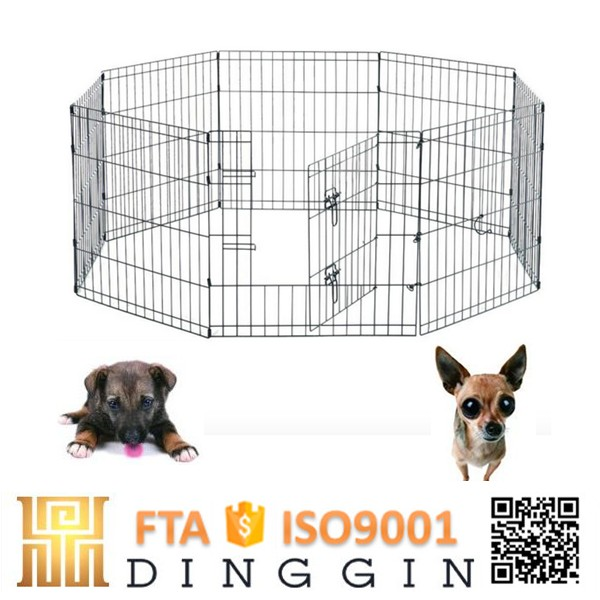 Safety house folding dog playpen
