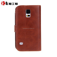 Top Quality Luxury Leather Case for Samsung Galaxy S5 SV I9600 Wallet Holster Phone Back Cover for Samsung Galaxy S4 SIV I9500