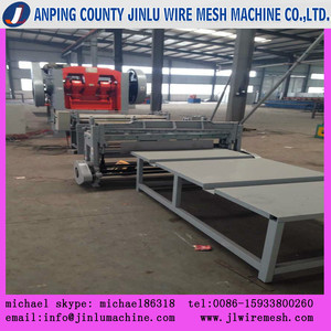 Square hole perforated metal mesh punching machine