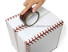 Baseball Stitches Creative Design decoration Tape BOPP Unique wrapping packing tapes