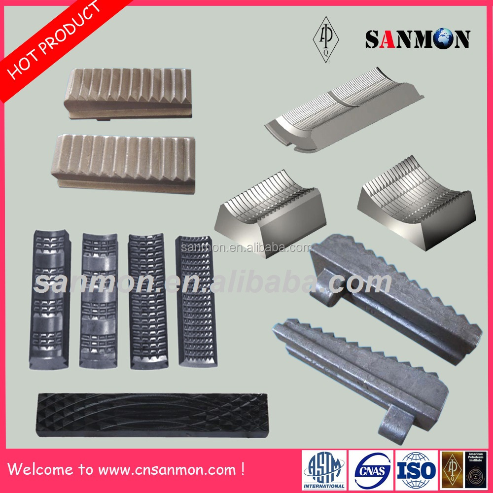 Best Product Drill Tools Manual Tong Dies and Slip Inserts