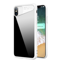 New product clear hard plastic pc tpu case phone cover for iphone x case