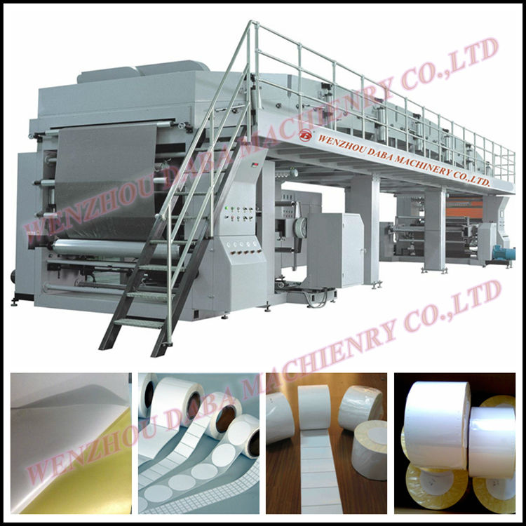 DBTB-500/1800 MULTI-FUNCTIONAL ROLL TO ROLL ADHESIVE STICKER PAPER COATING MACHINE